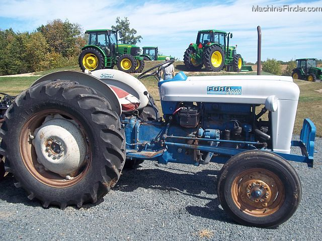 1963 Ford 2000 Tractor : Ford tractors utility hp john deere