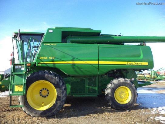 2008 John Deere 9670 Sts Combines John Deere Machinefinder