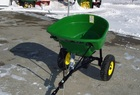 2012 John Deere JD 130 spin-spreader, pull-type, for L&G tractors