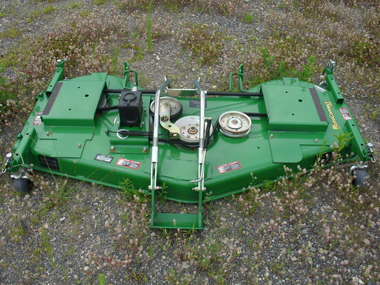 John Deere 72D AutoConnect ramp-on mower deck