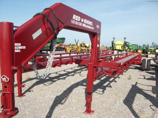2013 Other RED RHINO 40' 8 BALE GOOSENECK TRAILER