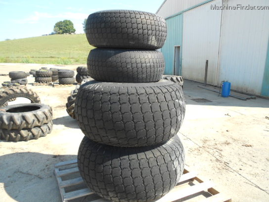 Other USED GALAXY 12LLX16 22.5X16 JUMBO TURF TIRES AND WHEELS FIT A JD 5095 TRACTOR 4 60%