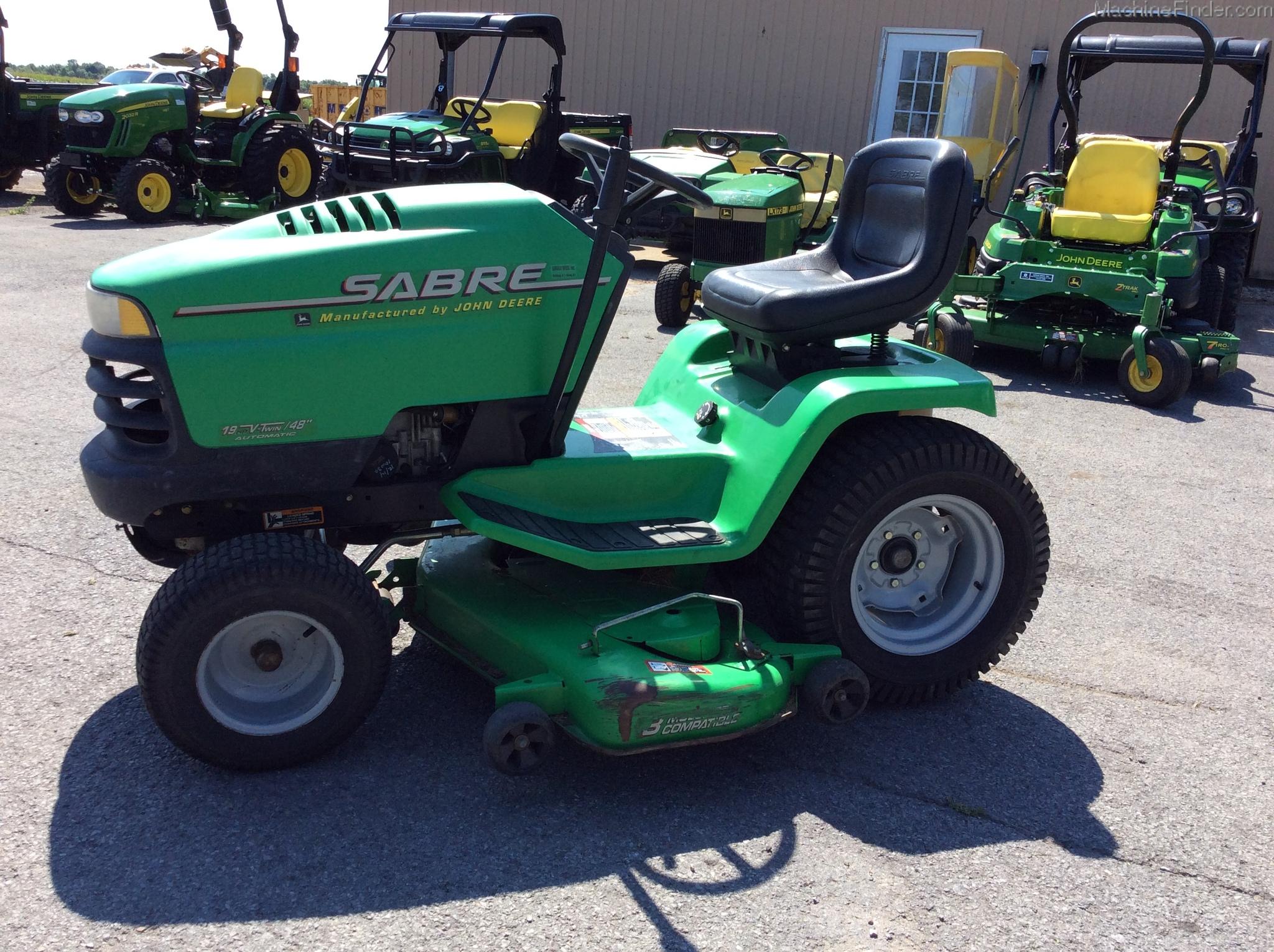 John Deere Sabre >> 2002 Sabre 1948hv Lawn Garden Tractors John Deere Machinefinder