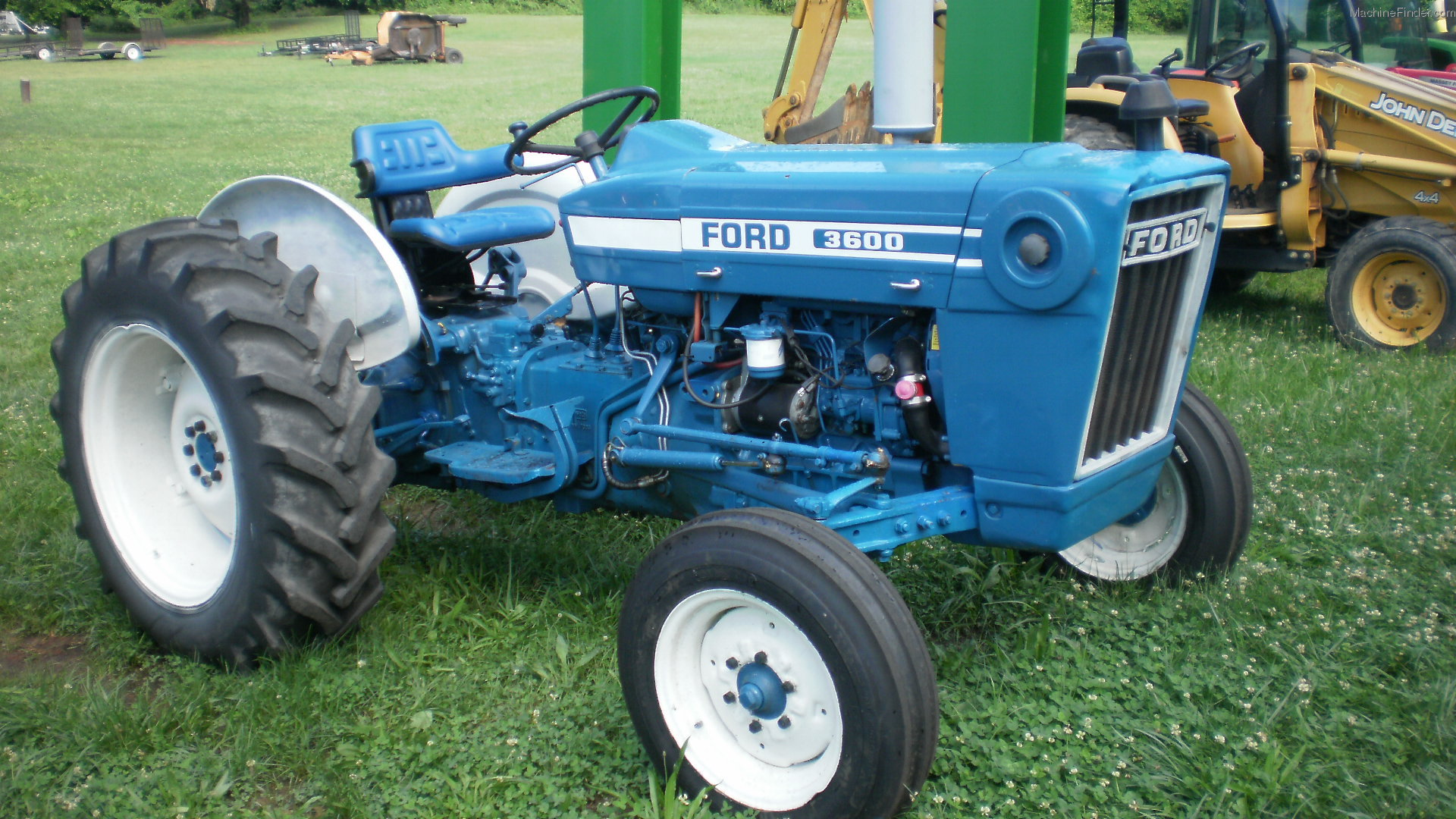 Ford 3600 Tractor : Ford tractors compact hp john deere