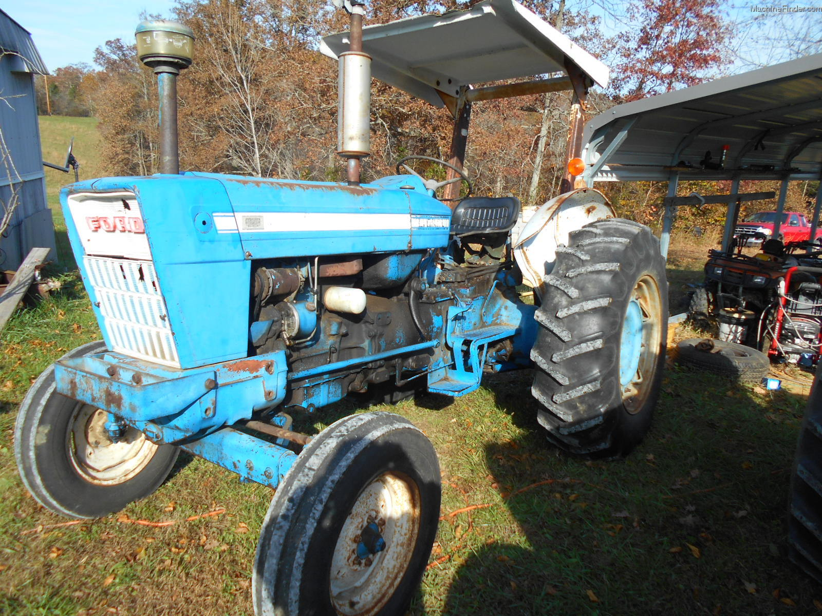 1972 Ford 5000 Tractor Parts : Ford tractors utility hp john deere
