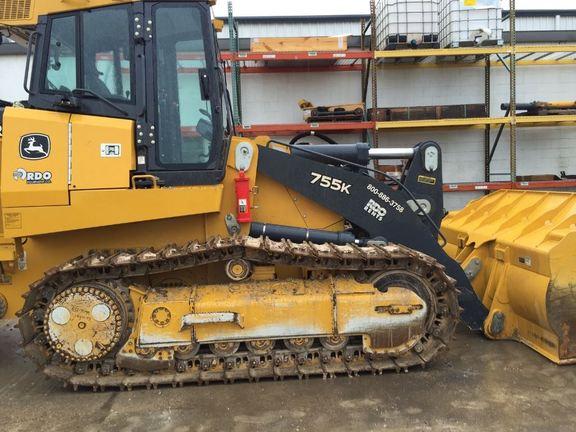 Detail photo of 2016 John Deere 755K from Construction Equipment Guide