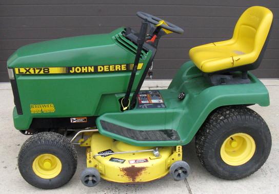 John Deere 178 Lawn Tractor : John deere lx riding lawn mower for sale in waupun