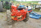 Allis - Chalmers C 2WD WITH MID MOUNT MOWER