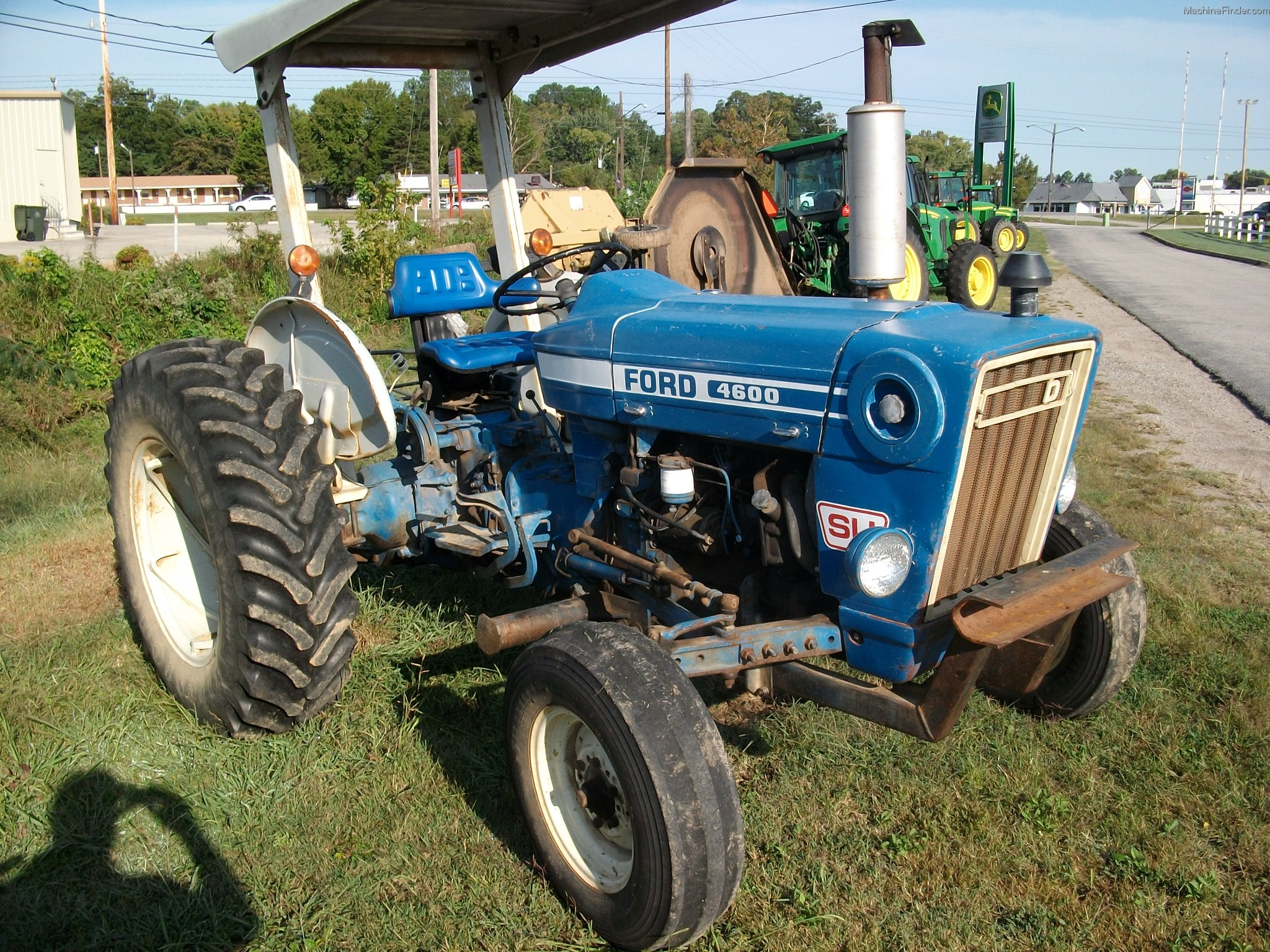 Ford 4600 Tractor Information : Ford tractor data