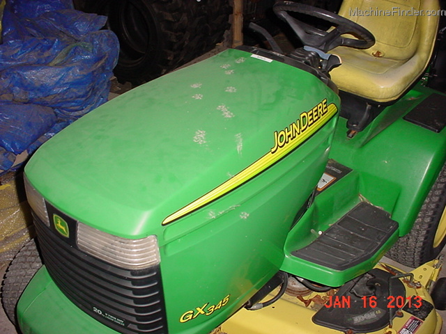 2002 john deere 345 lawn garden and commercial mowing john deere machinefinder for Bairs lawn and garden