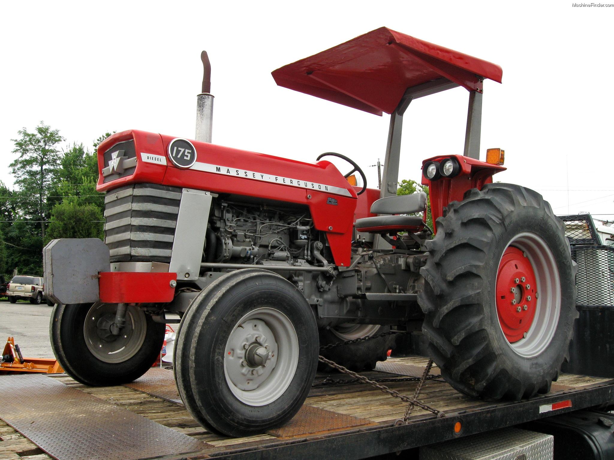 Massey Ferguson Canopy Top : Massey ferguson tractors utility hp john