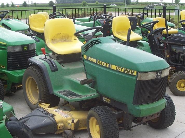 John Deere Gt262 : John deere gt quot speed lawn garden and