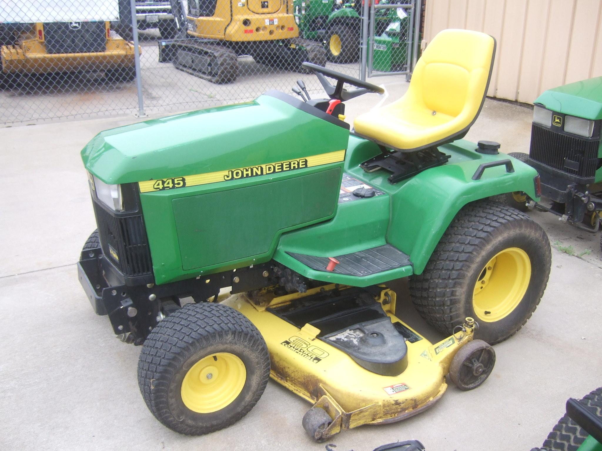 John Deere 445 Lawn Garden Tractors For Sale 49479