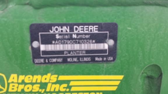 John Deere 1790