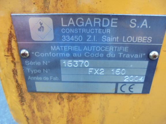 Lagarde FX2 160