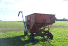 Yetter Cupped Auger Seed Wagon