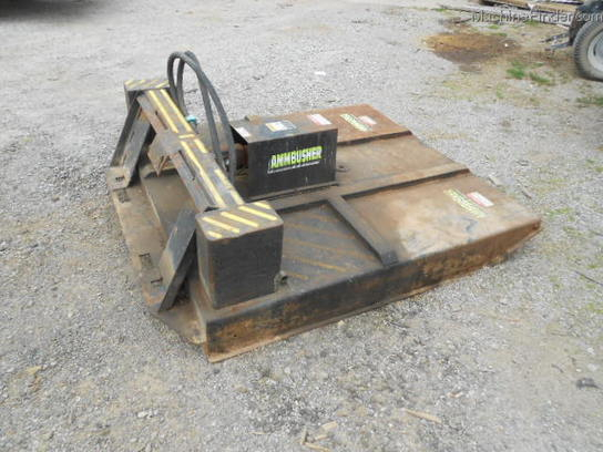 Ambusher 5ft SKID STEER ROTARY CUTTER