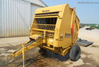1988 Vermeer 505I ROUND BALER MAKES A 5X5 BALE