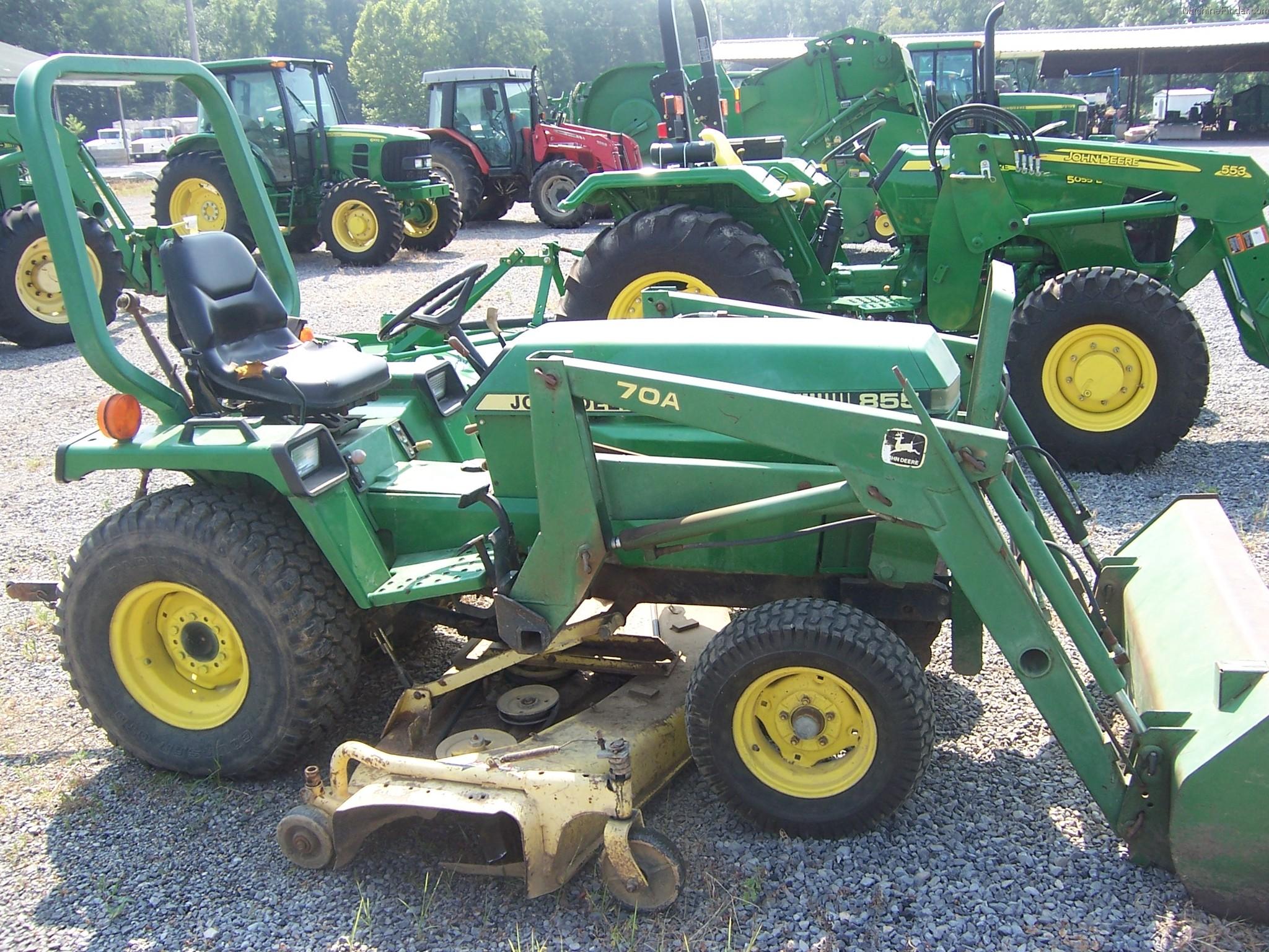 1991 John Deere 855 Tractors - Compact (1-40hp.) -