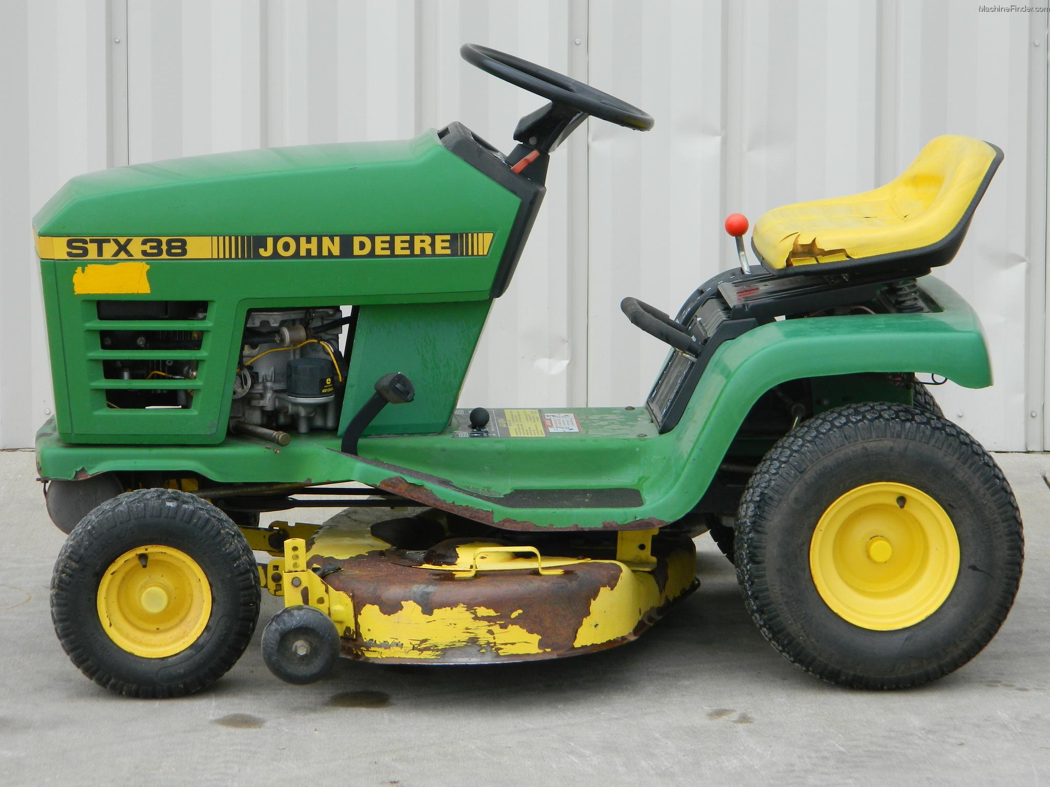 John Deere Stx 38 : Pin john deere stx lawn on pinterest
