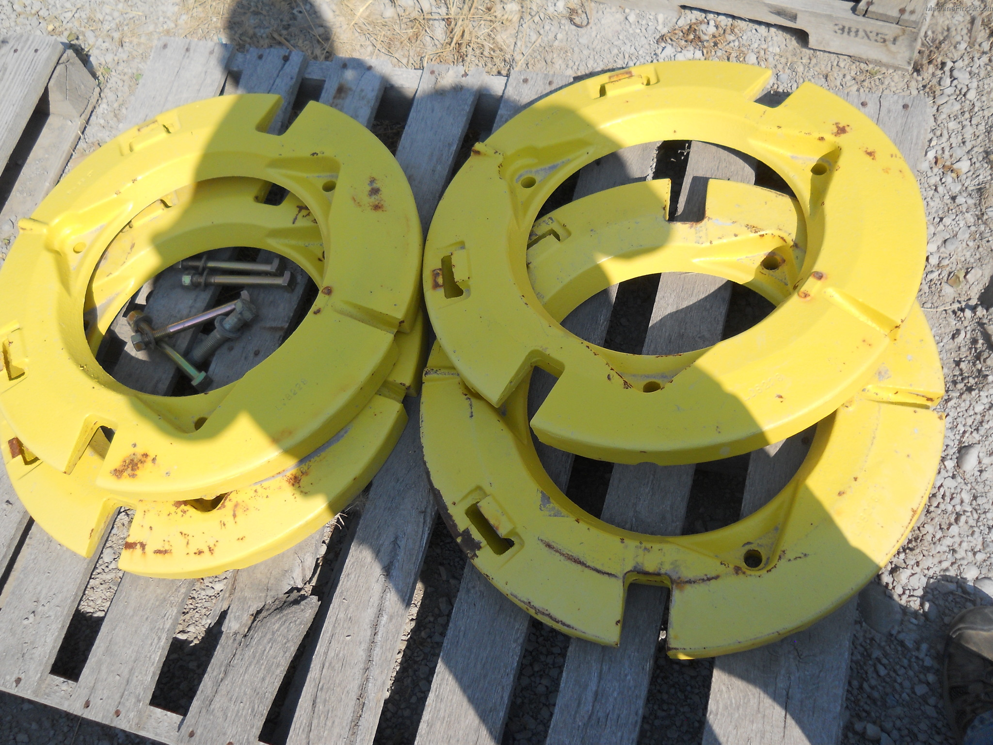 John Deere Rear Wheel Weights : John deere l rear wheel weights miscellaneous