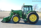 2003 John Deere 6420 Cab with 640SL