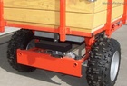 2012 DR Power Wagon Model 6.75 Pro, electric start, wood stake bed