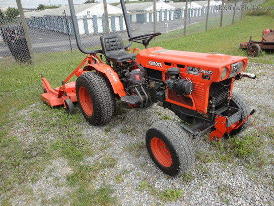 Kubota B7100 Backhoe : Kubota b tractors compact hp john deere