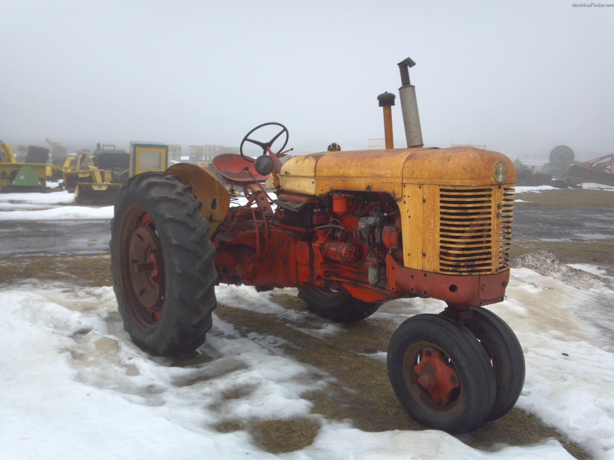 1956 Case Tractor : Tweet