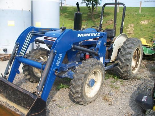 Farmtrac TRACTOR W/ LOADER Tractors - Utility (40-100hp ...