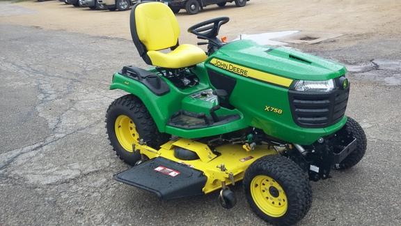 John Deere X758 Lawn  U0026 Garden Tractors For Sale