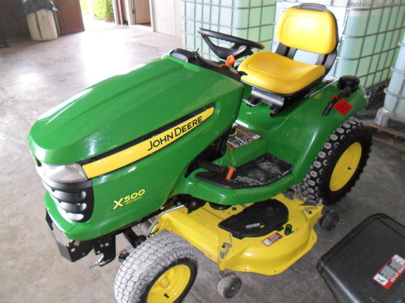 John Deere X500