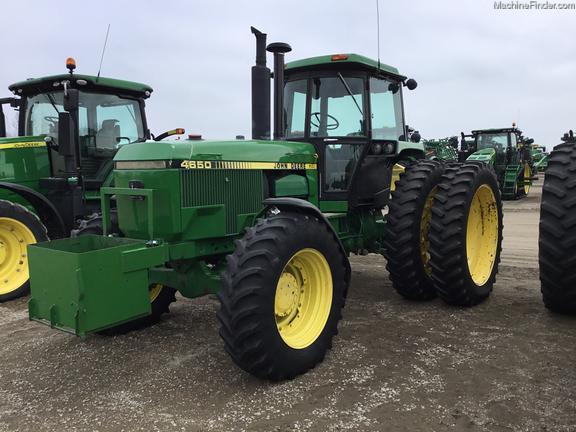 1987 John Deere 4650 Row Crop Tractors Willmar MN