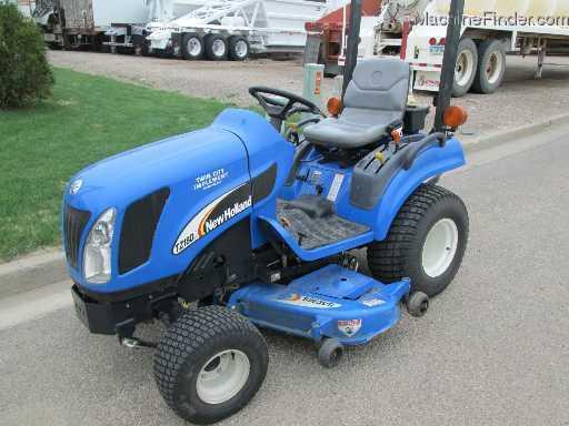 New Holland Compact Tractors Parts : Ford new holland tz da tractors compact hp