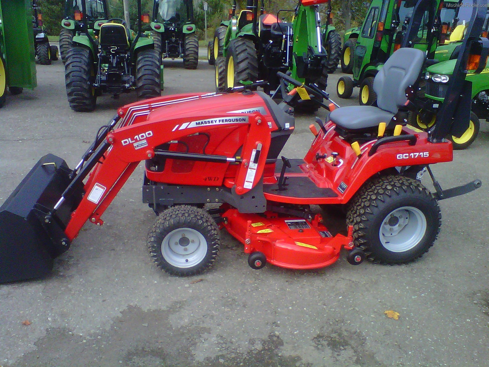 WRG-8679] Massey Ferguson Mf 1235 Compact Tractor Parts