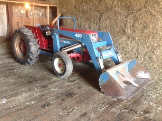 International Harvester 464 Tractor Parts : International harvester