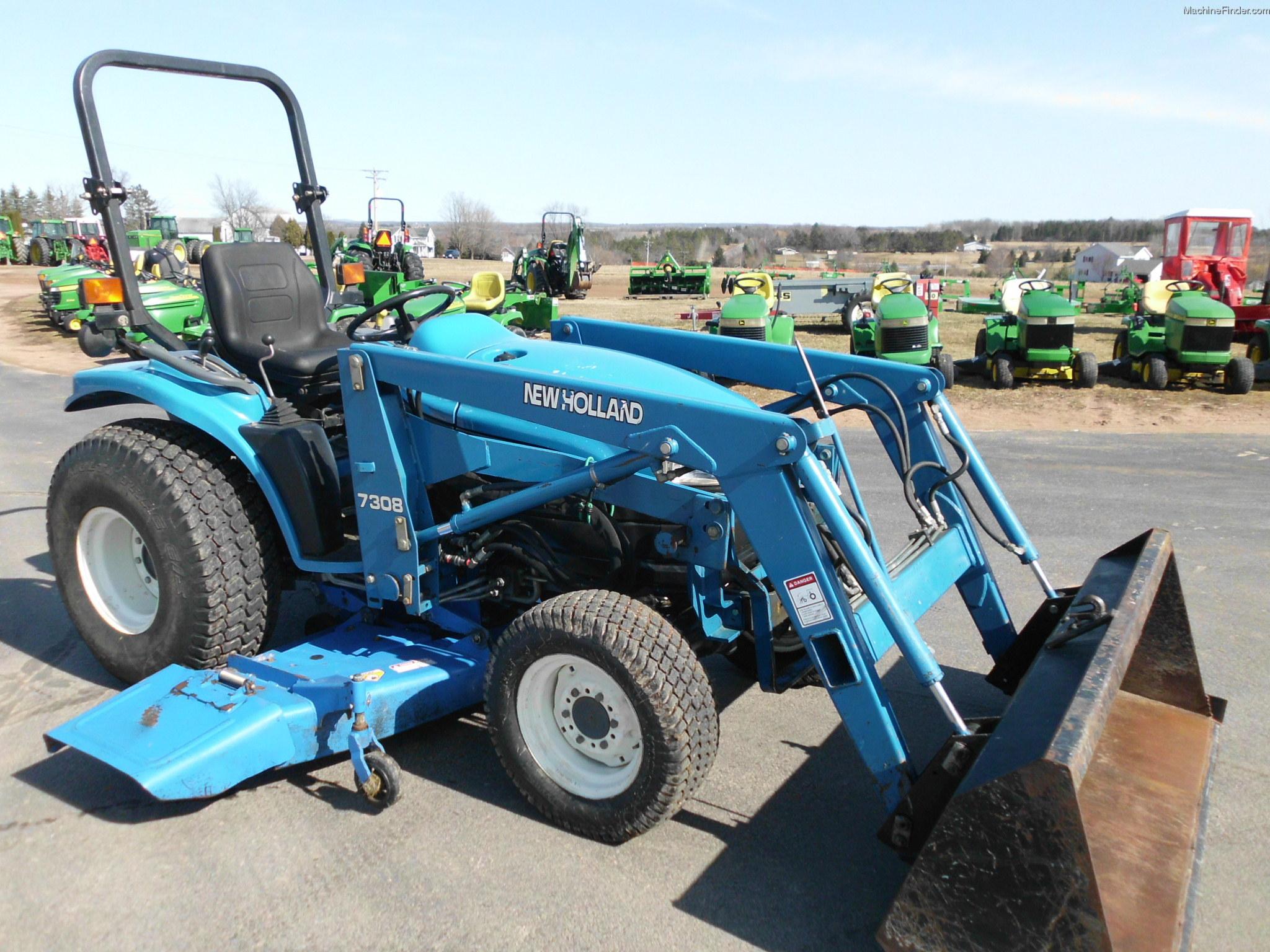 New Holland Compact Tractors Parts : New holland tc d tractors compact hp john