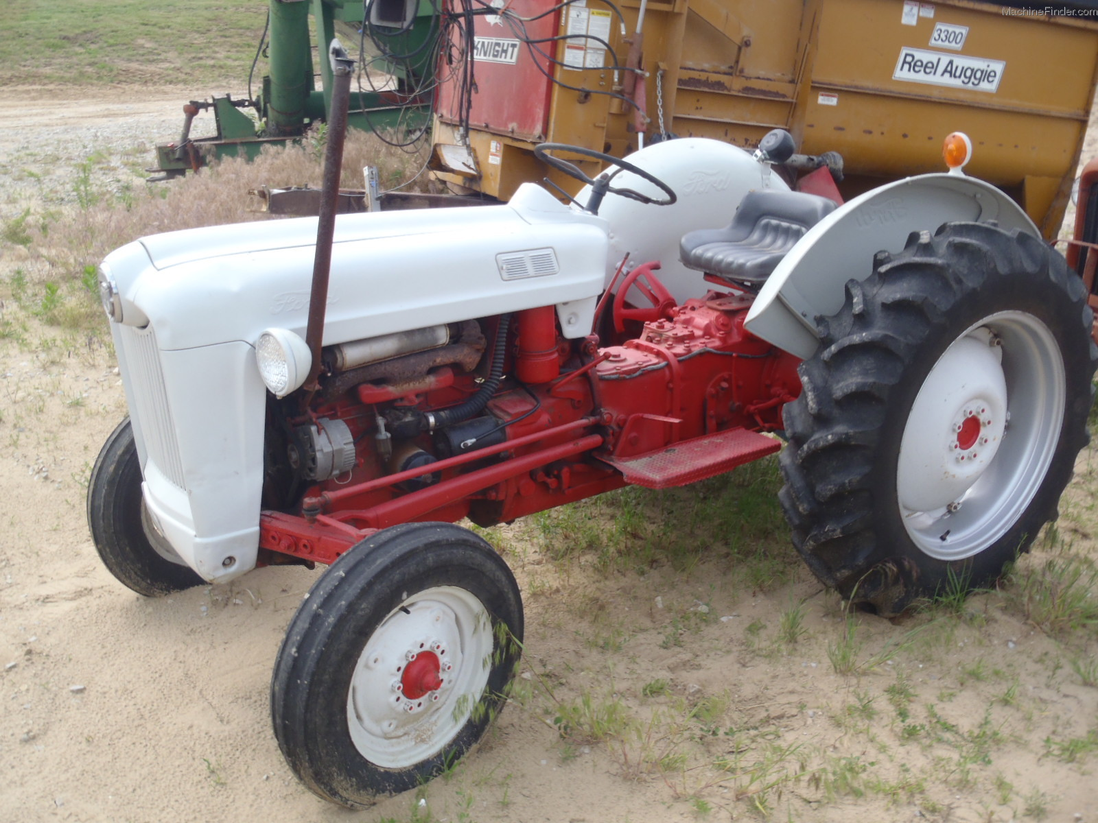 Ford 800 Tractor Parts : Ford tractor gas
