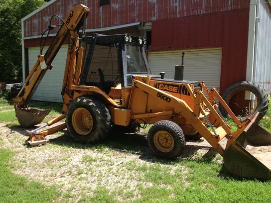 1982 Case Tractors : Case d tractor loader backhoes john deere