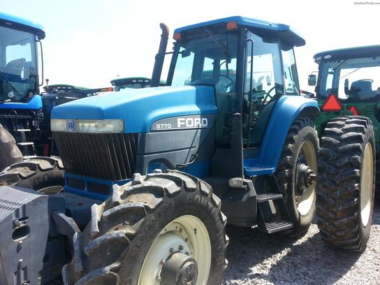1996 New Holland Tractor : New holland tractors row crop hp john