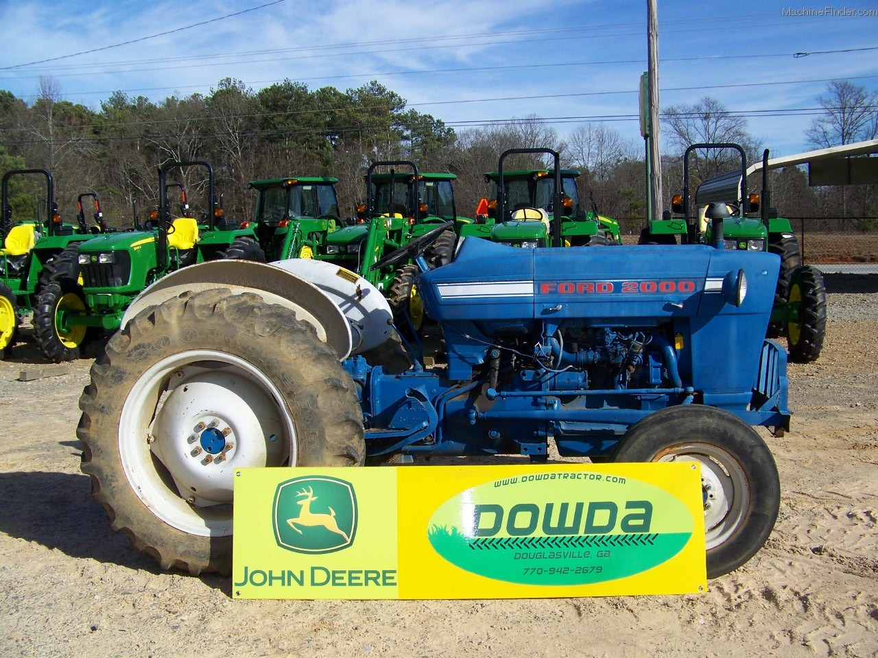 1968 Ford 2000 Diesel Tractor : Ford tractor related keywords