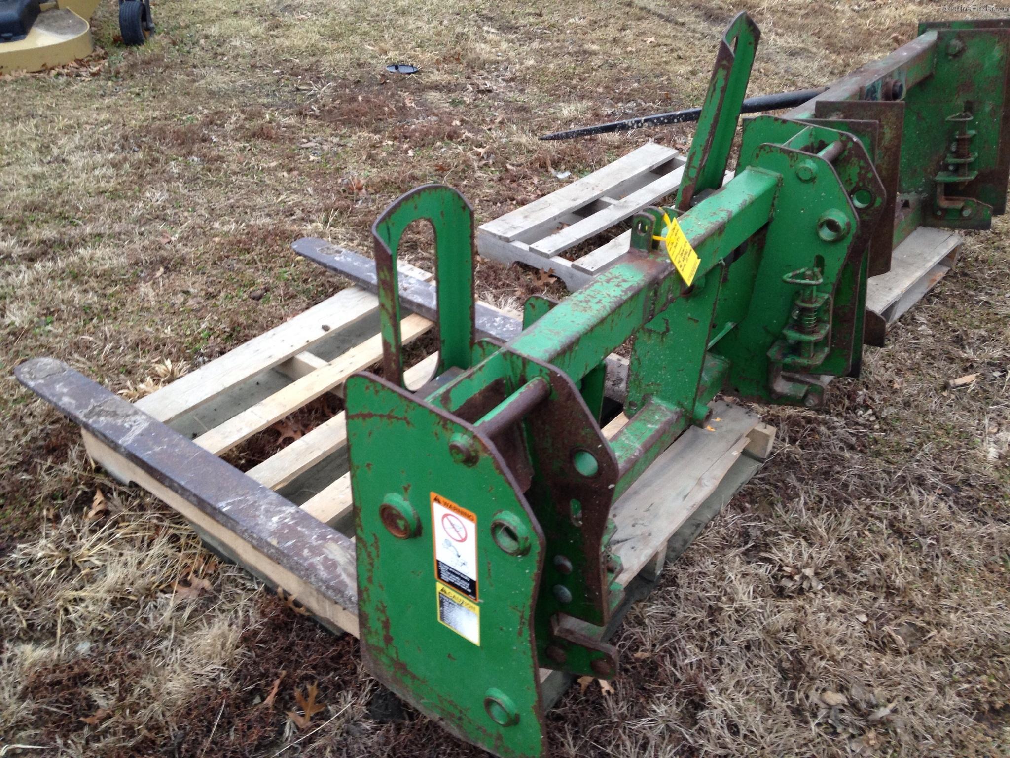 Jd Tractor Forks : John deere pallet forks tractor loaders