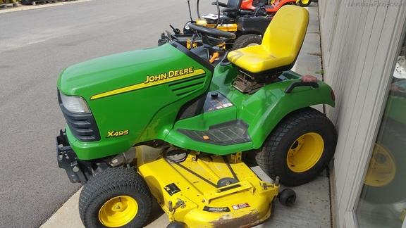 John Deere X495