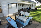 1981 E Z Go Golf Cart