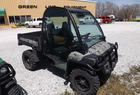 2011 John Deere 825I GATOR CAMO CAB WITH GLASS & DOORS