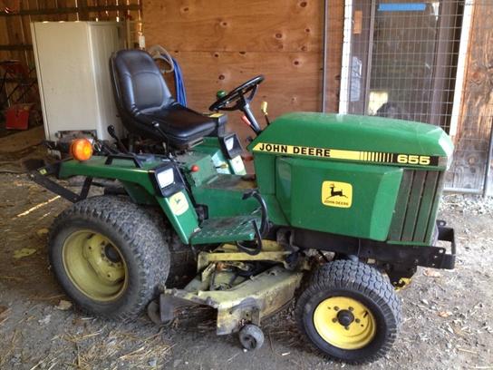 1990 John Deere 655 Tractors - Compact (1-40hp.) -