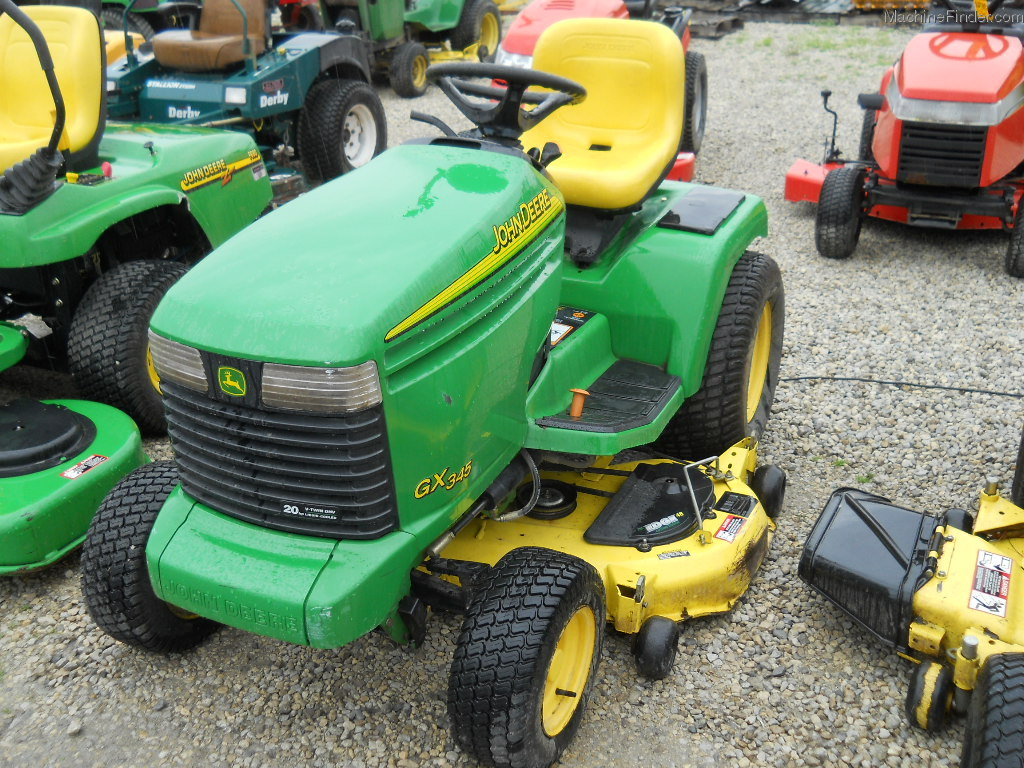 2005 John Deere GX345 Lawn & Garden and Commercial Mowing ...