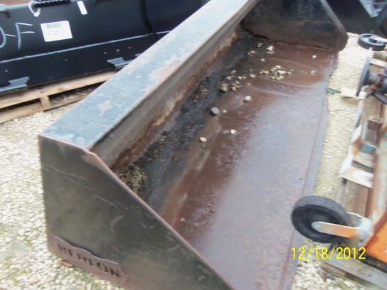 "Other 96"" Berlon skid steer bucket"