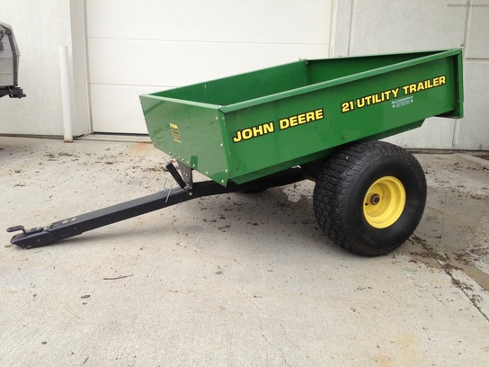 John Deere 21 Utility Trailer Lawn Amp Garden And Commercial