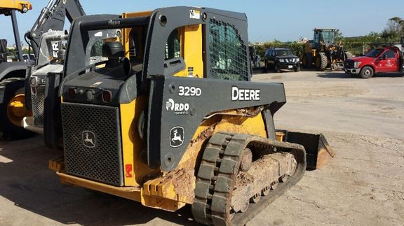 Detail photo of 2012 John Deere 329D from Construction Equipment Guide